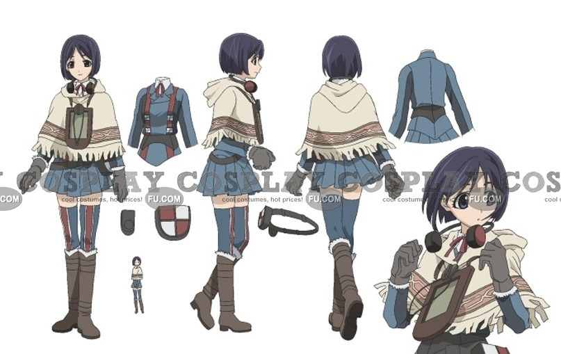 Isara Cosplay Costume from Valkyria Chronicles