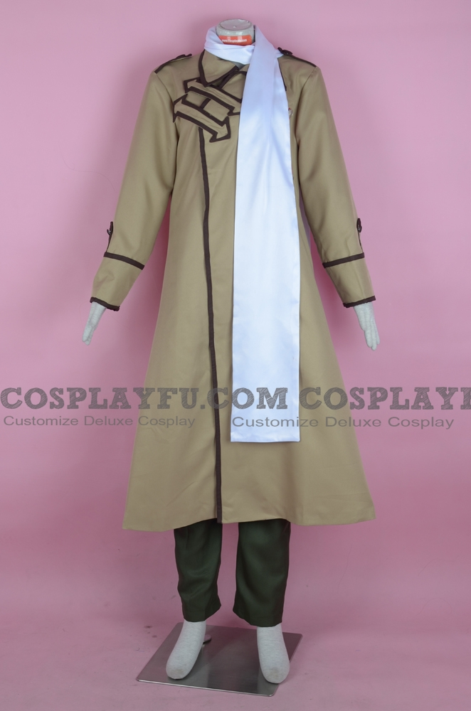 Ivan Cosplay Costume (Russia) from Axis Powers Hetalia