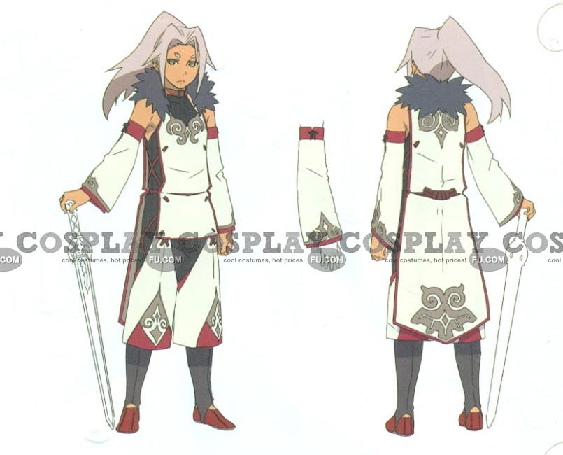 Ivar Cosplay Costume from Tales of Xillia