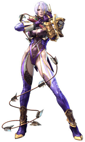 Ivy Cosplay Costume from Soulcalibur