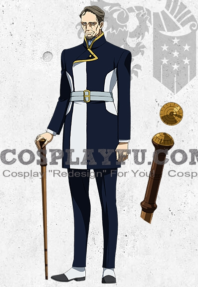 Iznario Cosplay Costume from Mobile Suit Gundam Iron Blooded Orphans