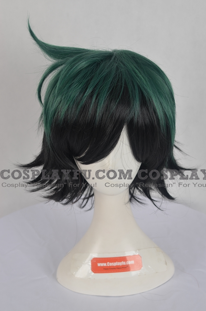 Izuku Wig from My Hero Academia