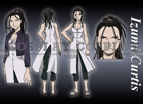 Fullmetal Alchemist Izumi Curtis Disfraz
