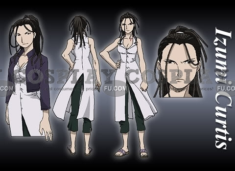 Izumi Cosplay Costume from FullMetal Alchemist