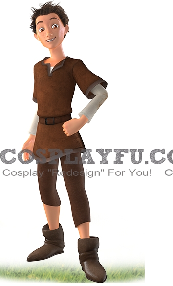 Jack(the Kitchen Boy) Cosplay Costume from The Seventh Dwarf