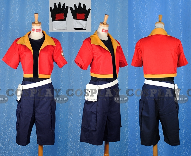 Jacky Cosplay Costume from Pokemon
