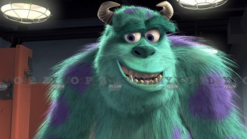 James P Cosplay Costume from Monsters University