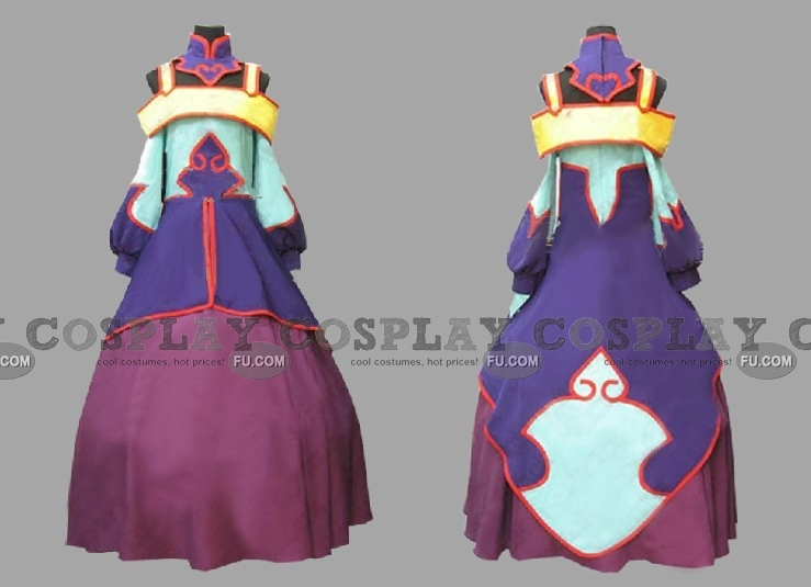 Jiang Lihua Cosplay Costume from Code Geass