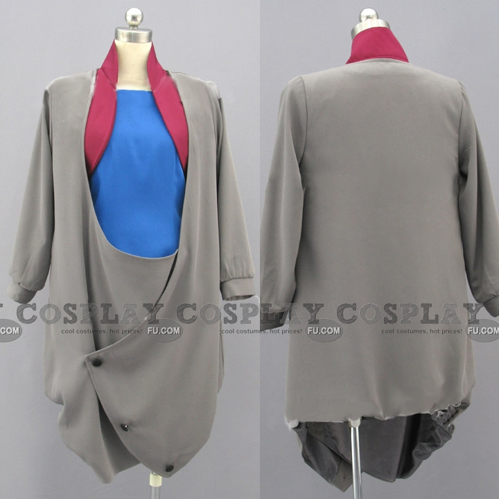 Jin Cosplay Costume from Aquarion Evol