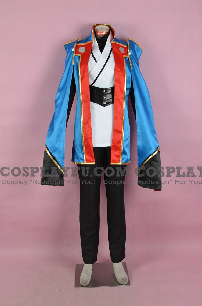 Jin Cosplay Costume from BlazBlue