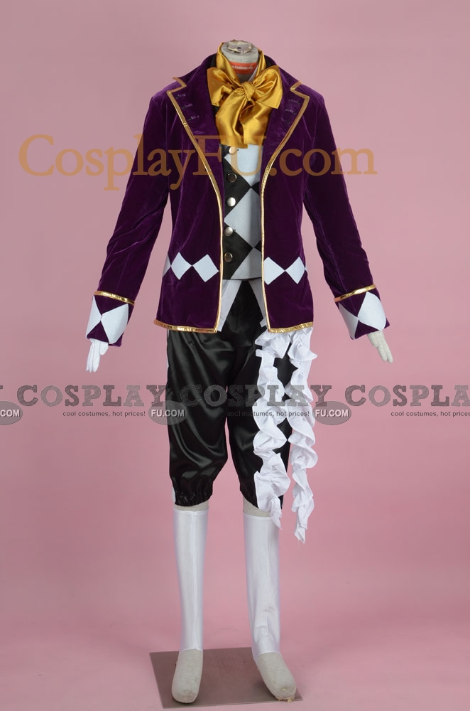 Joker Cosplay Costume (2nd) from Kuroshitsuji