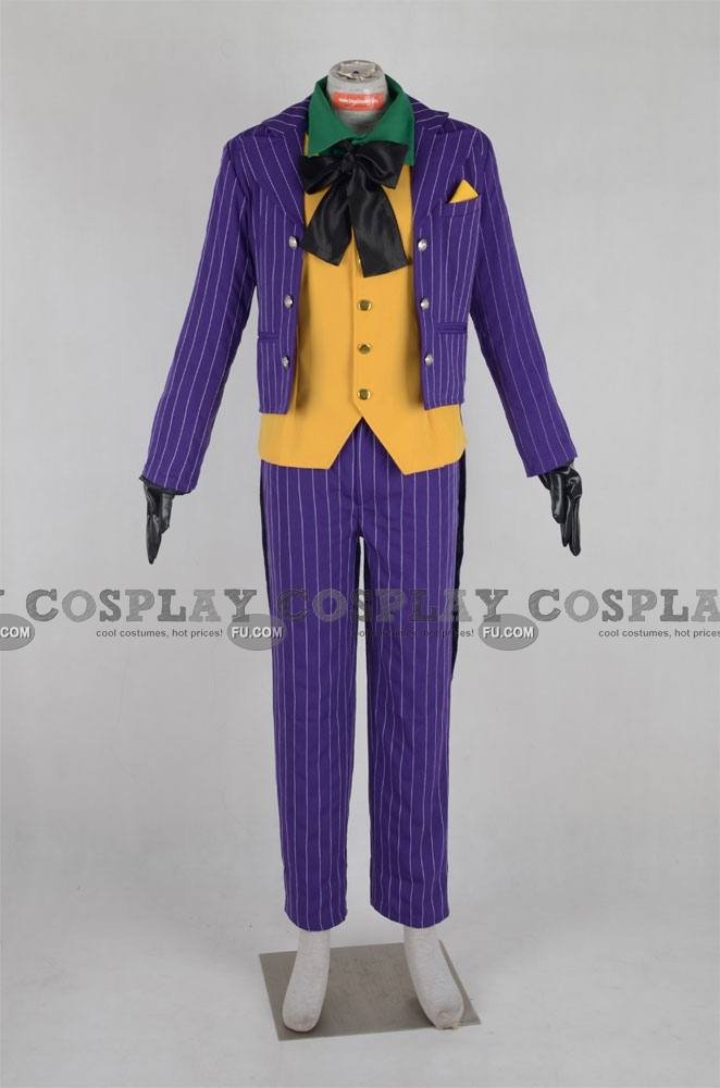 Joker Cosplay Costume (Violet) from Batman