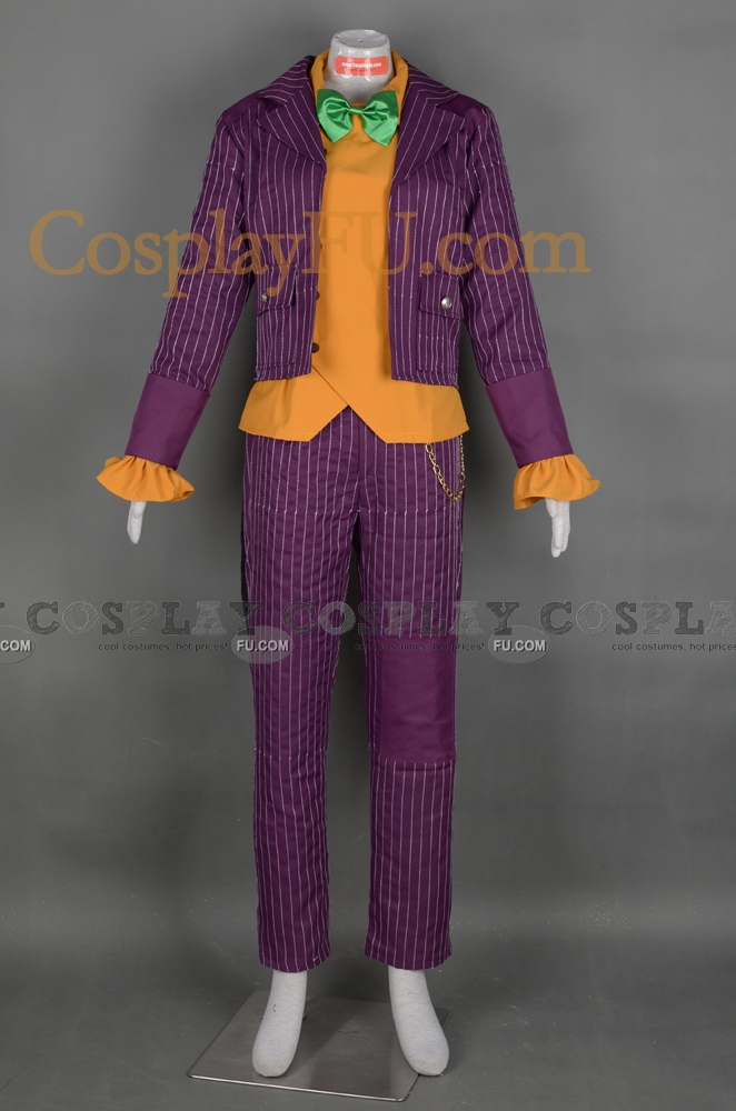Custom Joker Cosplay Costume from Batman Arkham City ...