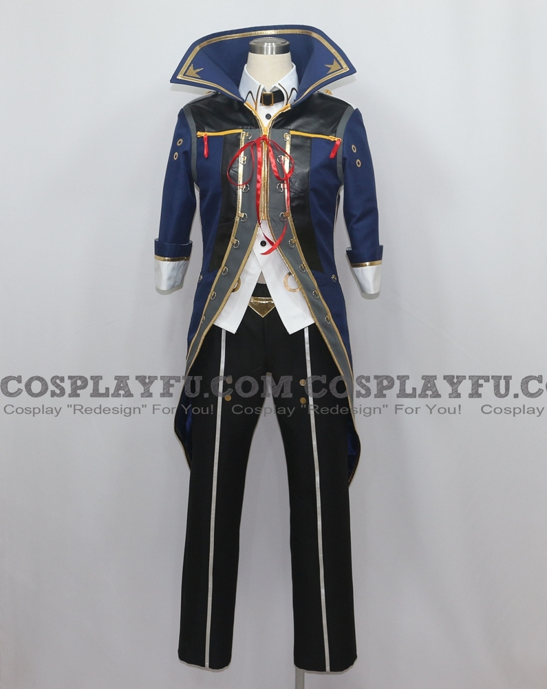 Julius Cosplay Costume from Gods Eater Burst 2