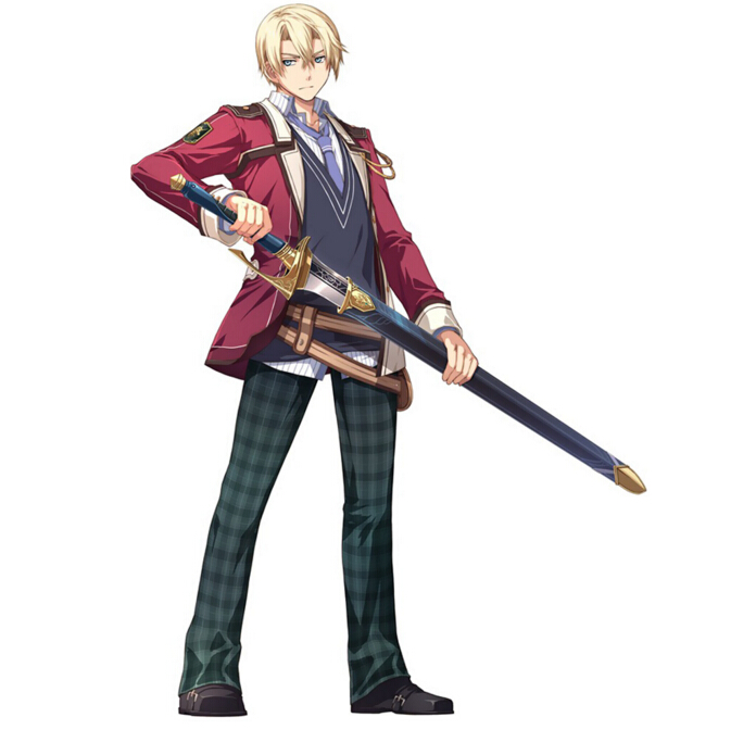 Jusis Cosplay Costume from The Legend of Heroes Trails of Cold Steel