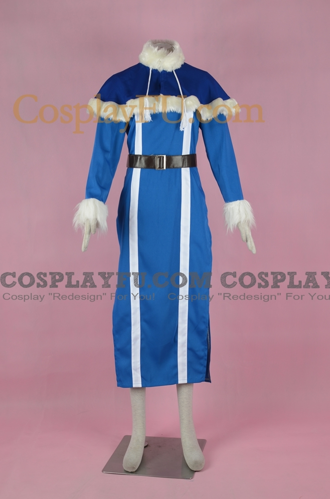 Juvia Cosplay Costume (Blue) from Fairy Tail