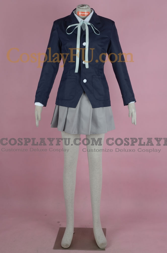 K-ON! Mio Akiyama Costume (School Uniform)
