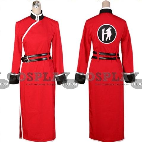 Gintama Kagura Costume (1 Piece)