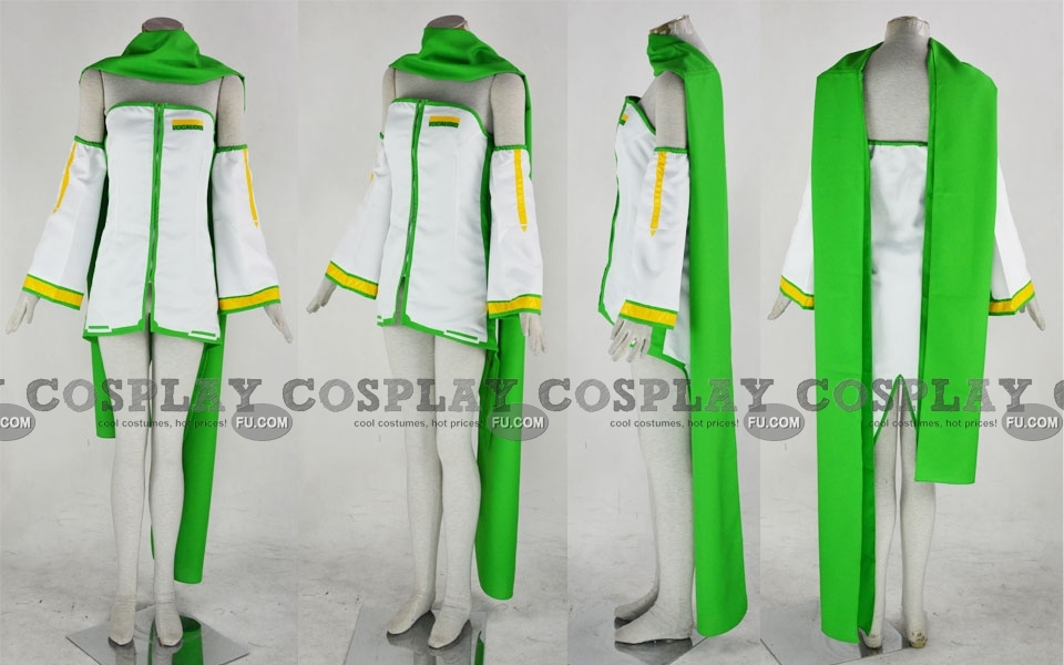 Kaiko Cosplay Costume (Green) from Vocaloid