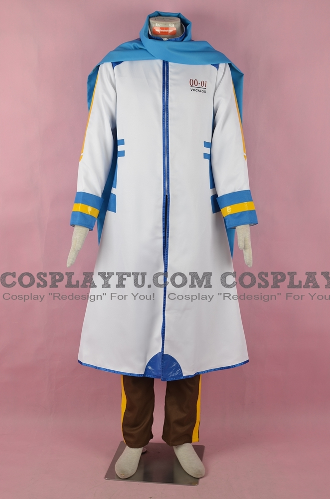 Kaito Cosplay Costume (Blue) from Vocaloid