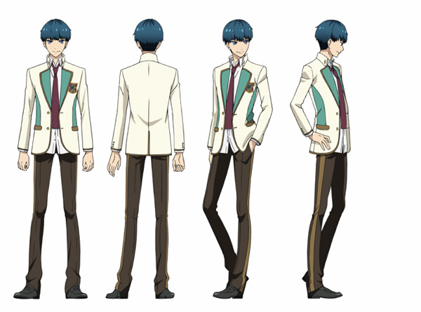 Kaito Cosplay Costume from High School Star Musical