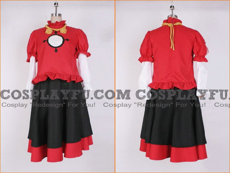 Kanako Cosplay Costume from Touhou Project