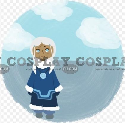 Katara Cosplay Costume (Winter) from Avatar The Last Airbender