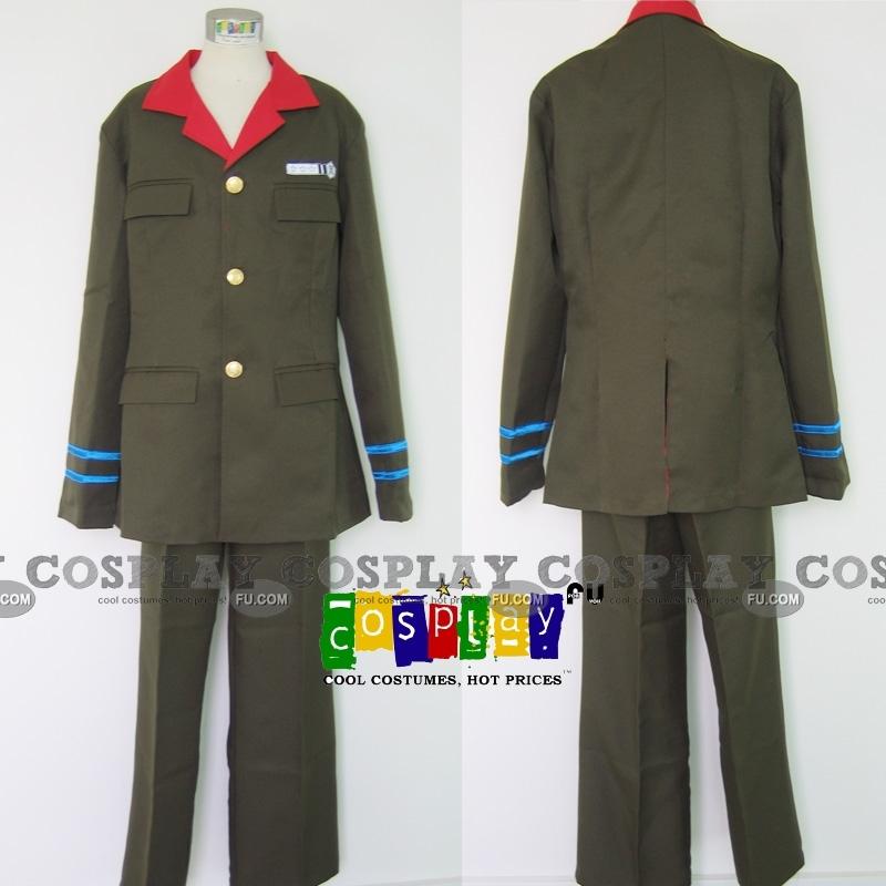 Ken Cosplay Costume from Katekyo Hitman Reborn