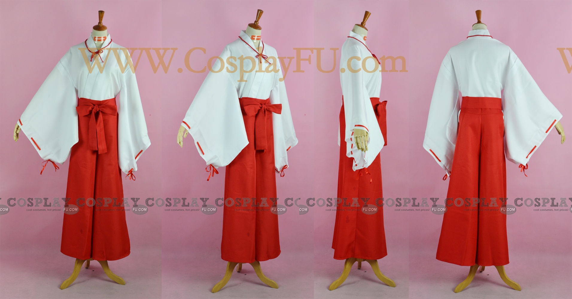 Kikyo Cosplay Costume (Stock) from Inuyasha