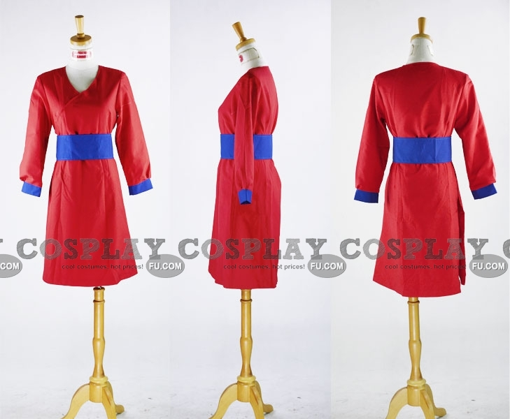 Kimiko Cosplay Costume from Xiaolin Showdown