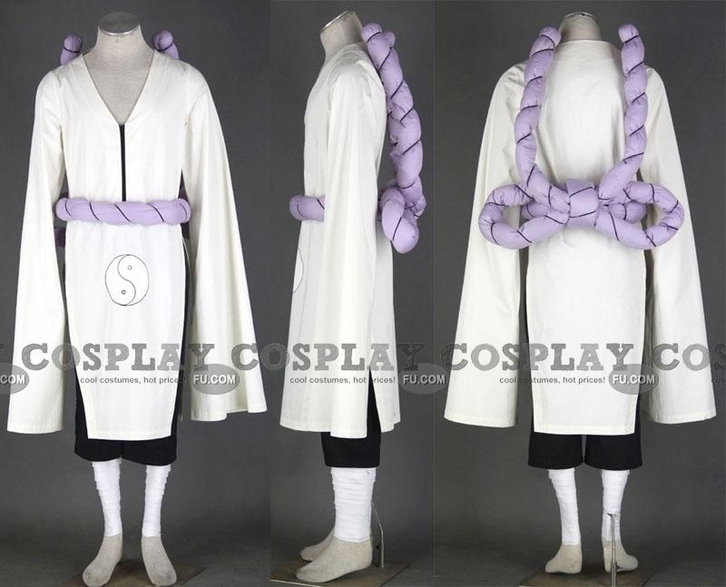 Kimimaro Cosplay Costume (2nd) from Naruto