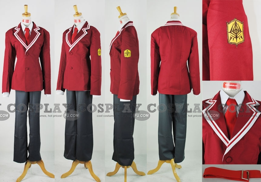 Kinji Cosplay Costume from Aria the Scarlet Ammo