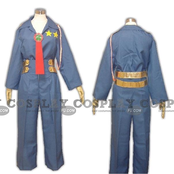 Kittan Cosplay Costume from Gurren Lagann