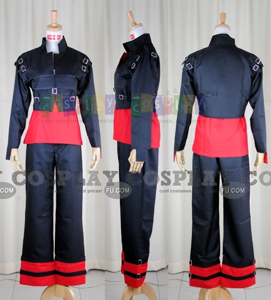 Kira Cosplay Costume (Casual Wear) from Gundam Seed