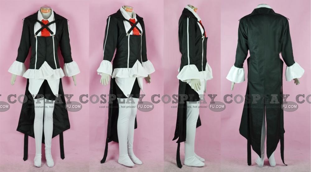 Kirika Cosplay Costume from Puella Magi Madoka Magica