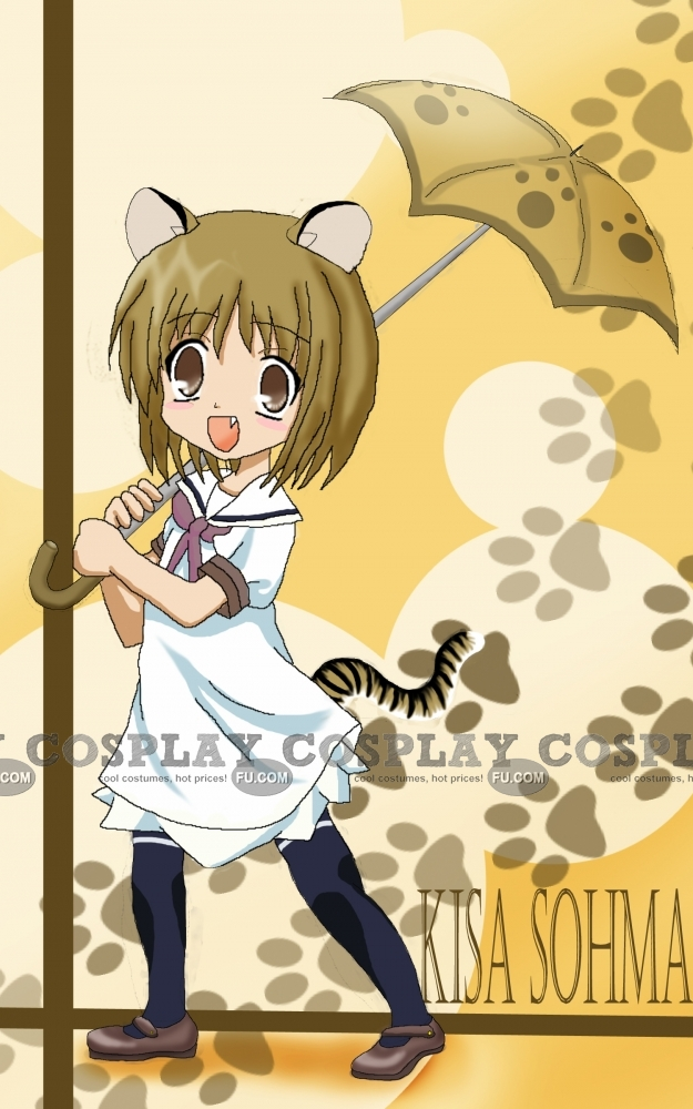 Kisa Cosplay Costume from Fruits Basket