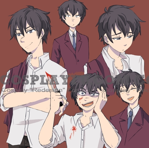 Kizami Cosplay Costume from Corpse Party