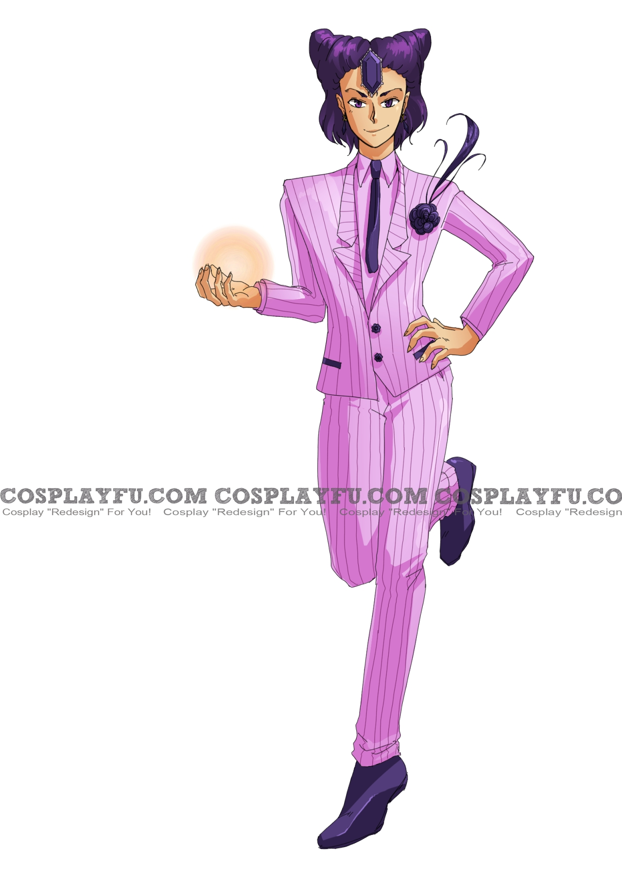 Koan Cosplay Costume (Suit) from Sailor Moon