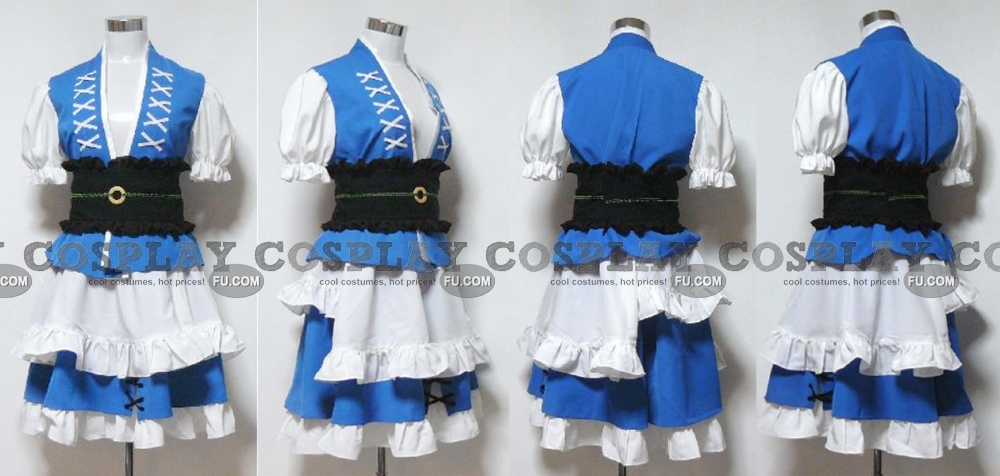 Komachi Cosplay Costume from Touhou Project