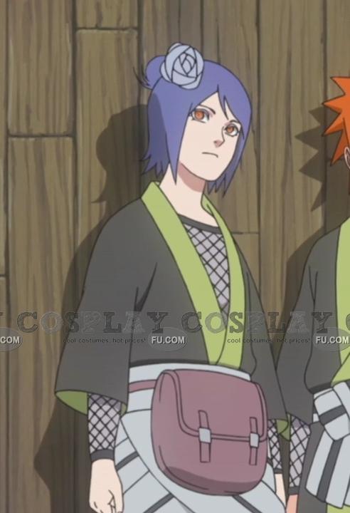 Konan Cosplay Costume (2nd) from Naruto Shippudden