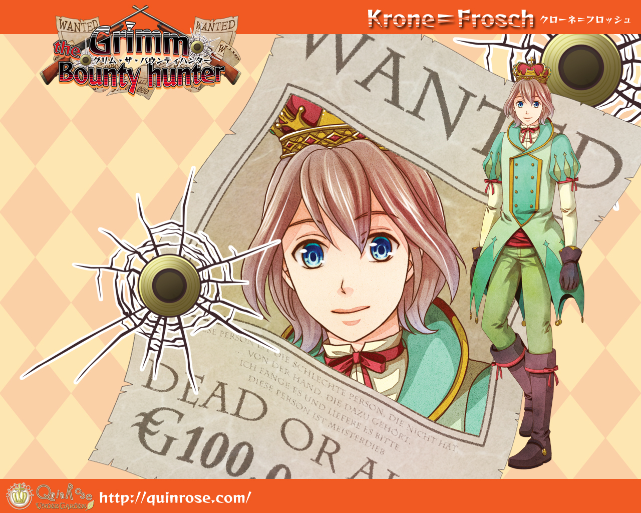 Krone Cosplay Costume from Grimm the Bounty Hunter