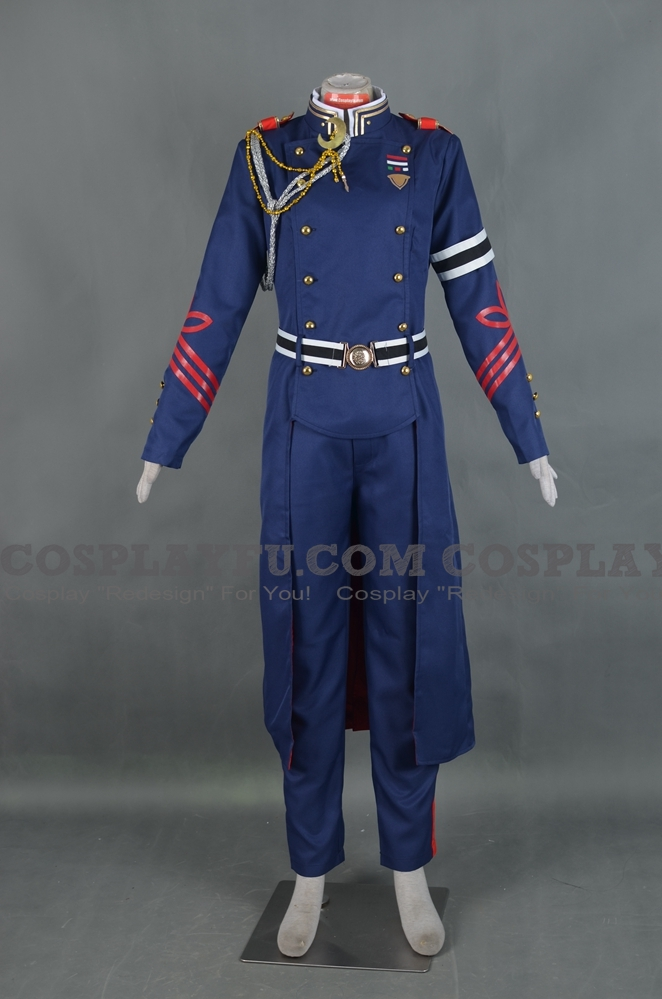 Kureto Cosplay Costume from Seraph of the End