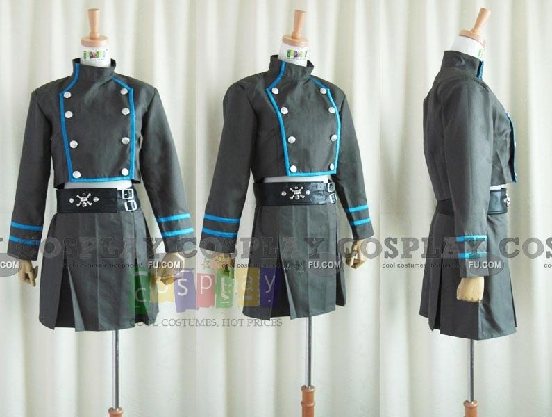 Tutor Hitman Reborn! Kuromu Dokuro Costume (School Uniform)