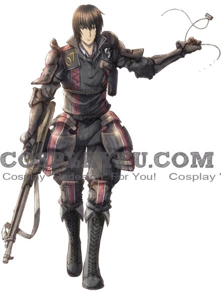 Kurt Cosplay Costume from Valkyria Chronicles 3