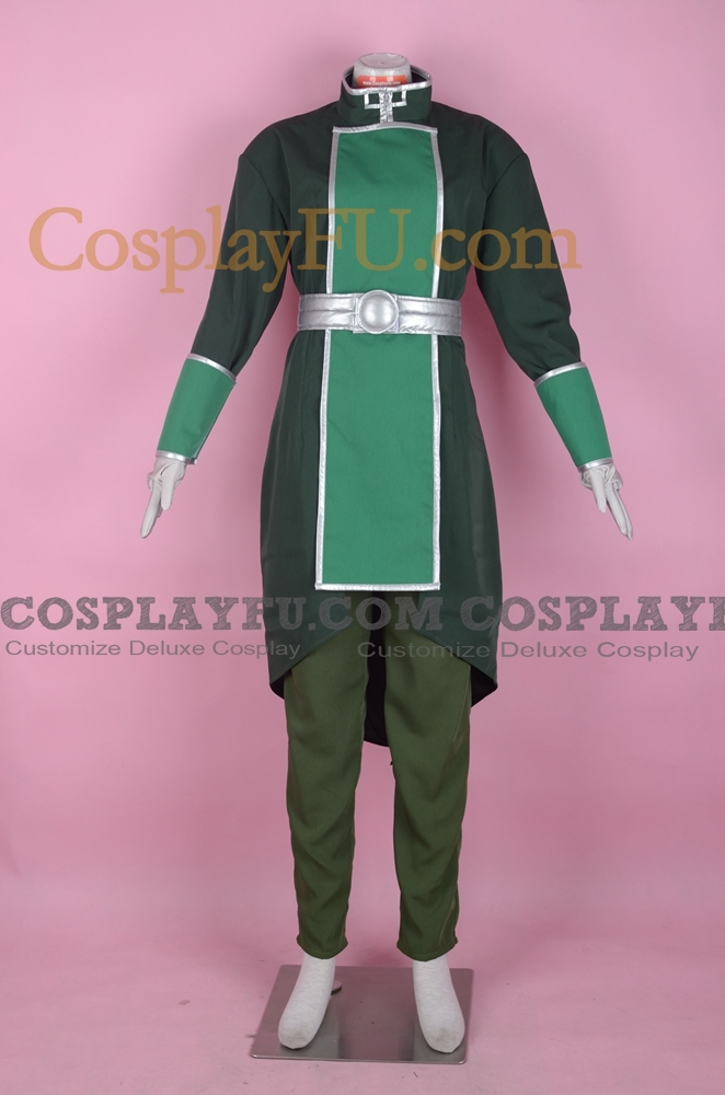 Kuvira Cosplay Costume from the The Legend of Korra