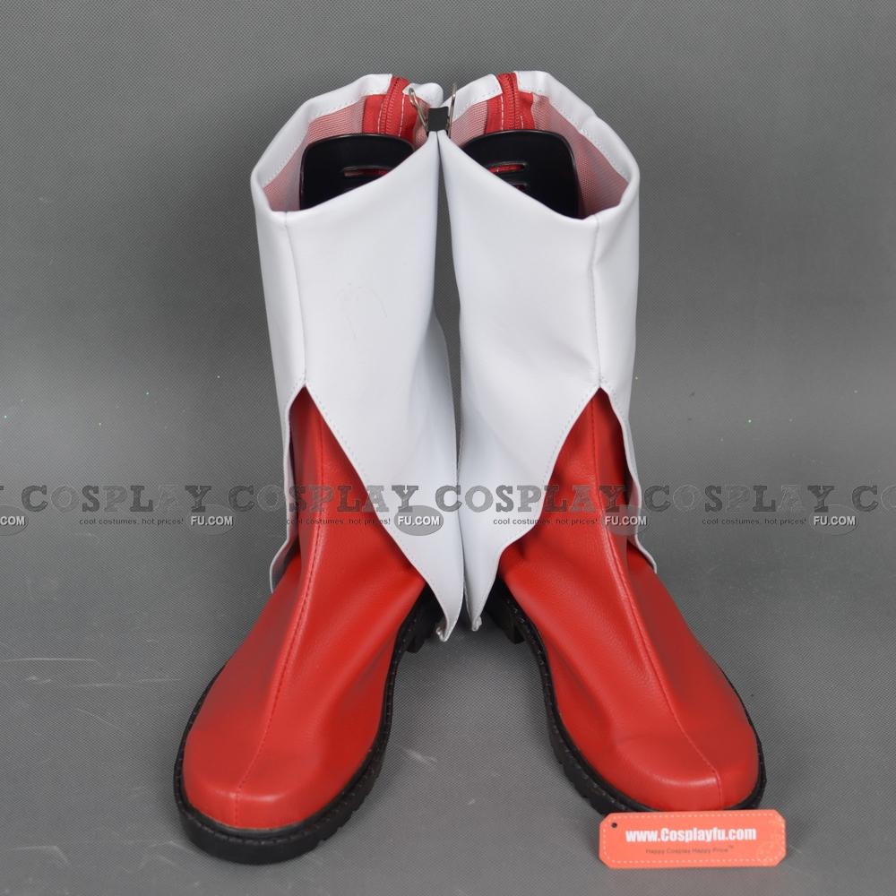 Puella Magi Madoka Magica Kyoko Sakura Zapatos (C157)