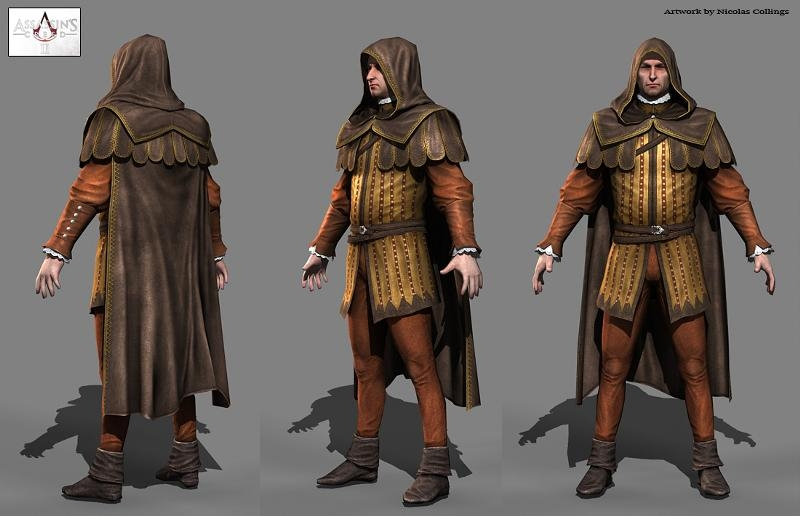La Cosplay Costume from Assassins Creed