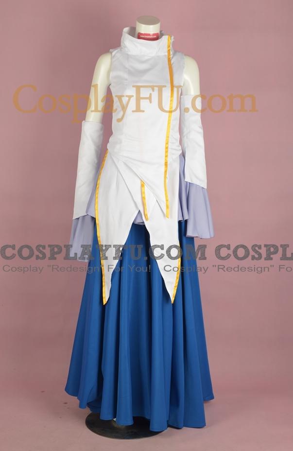 Mobile Suit Gundam SEED Lacus Clyne Costume (Classic 2-255)