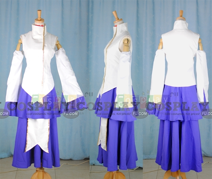 Lacus Cosplay Costume (Classic) from Gundam Seed