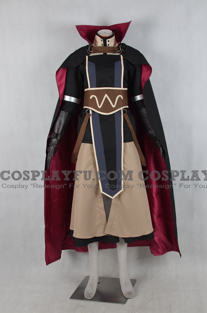 Laurent Cosplay Costume from Fire Emblem Awakening